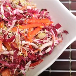 Recette NutriSimple  Salade rouge mamie