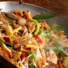 Recette NutriSimple Delicious SIMPLIFIED 5-ingredient chicken chop suey