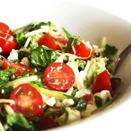 Recettes santé | NutriSimple | Pâtes aux courgettes d'été ...