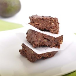 Recette NutriSimple Brownies crus surprenants