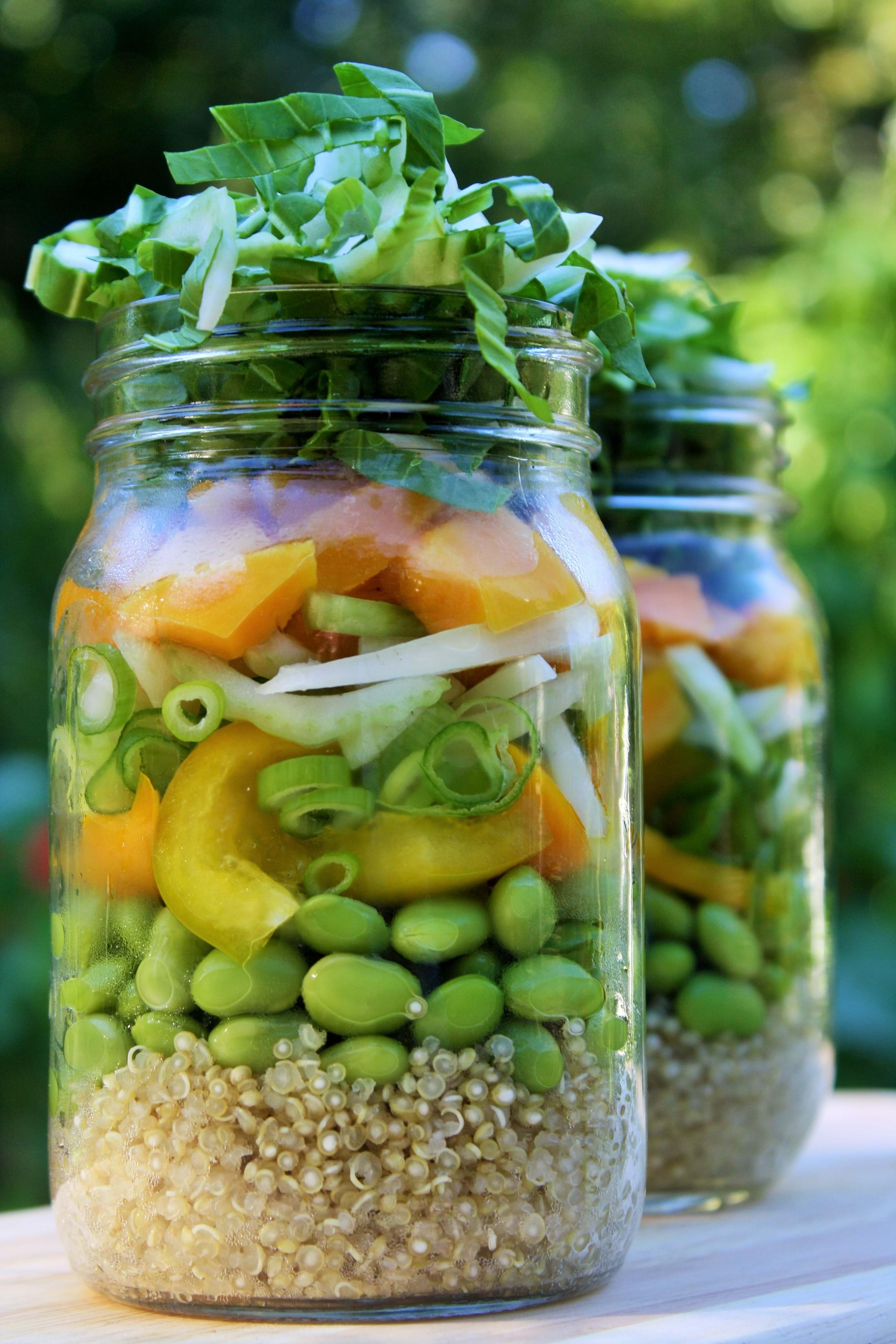 recettes sant nutrisimple salade de bok choy et edamame asiatique. Black Bedroom Furniture Sets. Home Design Ideas
