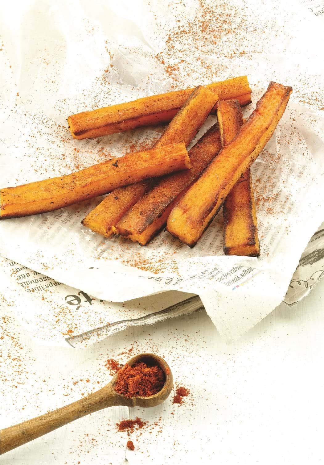 Recettes sant nutrisimple frites de patates douces au four - Frite de patate douce au four ...