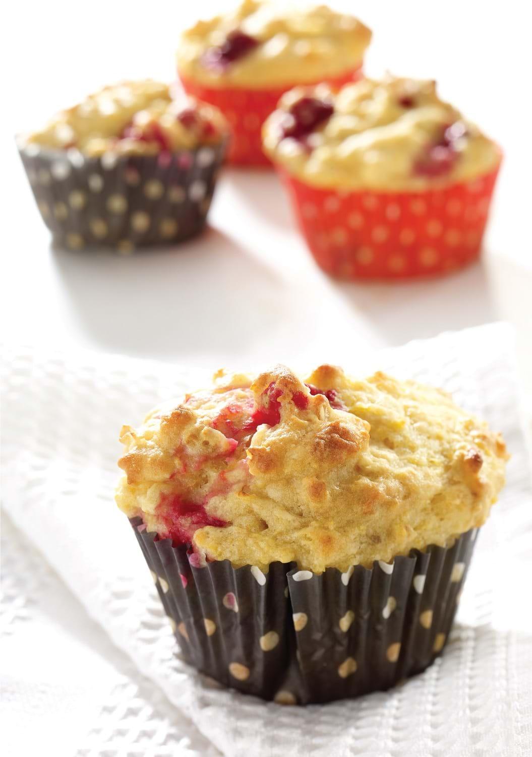 recettes sant nutrisimple muffins aux canneberges et. Black Bedroom Furniture Sets. Home Design Ideas