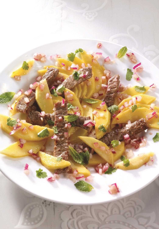 recettes sant nutrisimple salade repas la mangue. Black Bedroom Furniture Sets. Home Design Ideas
