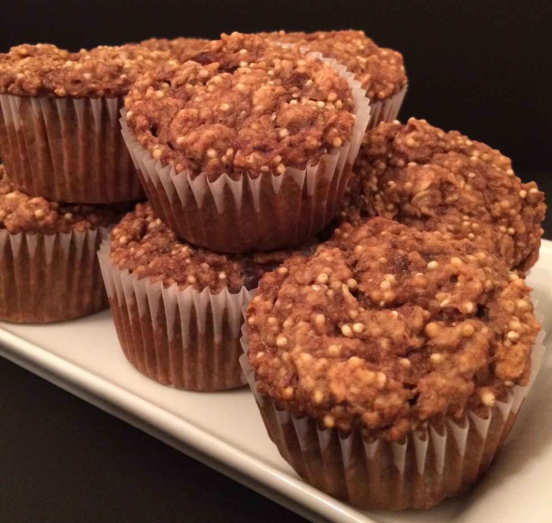 Muffins protéinés pour le petit-déjeuner !